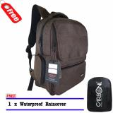 Jual Carboni Tas Ransel Aa00026 Original Coffee Raincover Murah