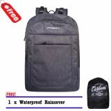 Jual Carboni Tas Ransel Backpack 18 Inchi Ma0072 Grey Original Raincover