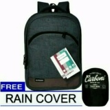 Beli Carboni Tas Ransel Backpack Polyesternylon Model Korean Casual Fungsional Aa00014 15 Zv Grey Original Raincover Trendy No Brand Asli
