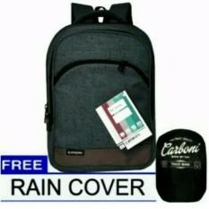 Beli Carboni Tas Ransel Backpack Polyesternylon Model Korean Casual Fungsional Aa00014 15 Zv Grey Original Raincover Trendy Kredit Dki Jakarta