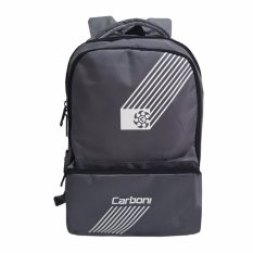 Carboni Tas Ransel Distro RA0050 Original - Grey + Raincover