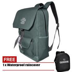 Harga Carboni Tas Ransel Laptop 17 Inchi Ra00049 Polyester Serat Sintetis Original Grey Raincover Carboni Original