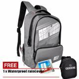 Jual Carboni Tas Ransel Laptop 17 Inchi Ra00050 Polyester Serat Sintetis Original Grey Carboni Ori