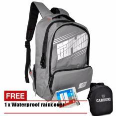 Harga Carboni Tas Ransel Laptop 17 Inchi Ra00050 Polyester Serat Sintetis Original Grey Carboni Ori