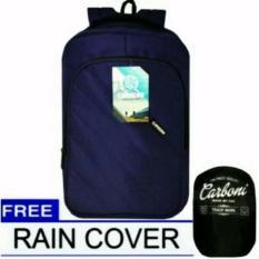 Beli Carboni Tas Ransel Laptop Ma0344 Biru Original Raincover Cicilan