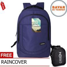 Carboni Tas Ransel Laptop Punggung Casual Ma00028 15 Grey Original Raincover Terbaru