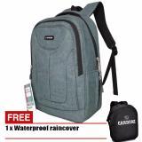 Toko Jual Carboni Tas Ransel Laptop 17 Inchi Aa00018 Polyester Serat Sintetis Original Grey Raincover