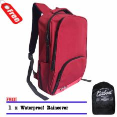 Carboni Tas Ransel Ra0015 Original 17 Red Raincover Dki Jakarta Diskon