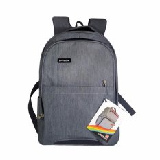 Carboni Tas Ransel RA0016 Original 17 - Grey + Raincover