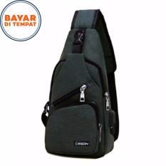 Beli Carboni Waistbag 2 In 1 Aa00023 Ransel Tali Satu Bisa Untuk Tali Dua Original Grey Pakai Kartu Kredit