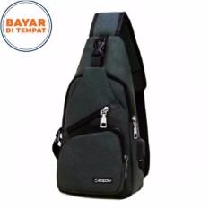 Beli Carboni Waistbag 2 In 1 Aa00023 Ransel Tali Satu Bisa Untuk Tali Dua Original Grey Carboni