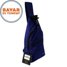 Harga Carboni Waistbag Ransel Tali Satu Aa00022 10 Dobel Fungsi Blue New