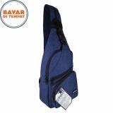 Beli Carboni Waistbag Ransel Tali Satu Aa00023 10 Dobel Fungsi Blue Online Dki Jakarta