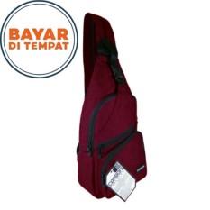 Jual Carboni Waistbag Ransel Tali Satu Aa00023 10 Dobel Fungsi Red Ori