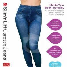 Beli Caresse Jean As Seen Tv Jeans Pelangsing Slim Fit Legging Wanita Body Dengan Kartu Kredit