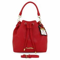 Jual Carlo Rino 0303730 005 04 Bucket Bag Pink White Murah Di Dki Jakarta
