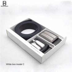 Caron Kalen Men Merek Deisnger Belt Buckle 2 In 1 Set Hitam Ck 1 Kotak Putih C Intl Tiongkok Diskon 50
