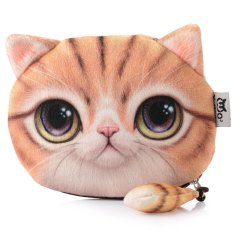 Harga Cartoon Cat Zipper Design Ladies Workmanship Change Purse Yellow Intl Intl Yang Murah