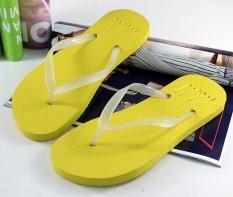 Kartun Lipat Flops Bercahaya Sandal Wanita Musim Panas Sweethearts Bercahaya Sandal HM Baru Sandal Sandal Pria Kuning-Internasional