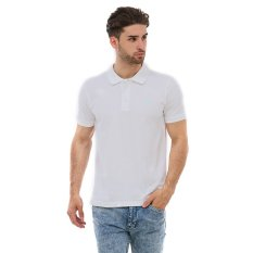 Carvil 01B Kaus Polo Pria - Putih