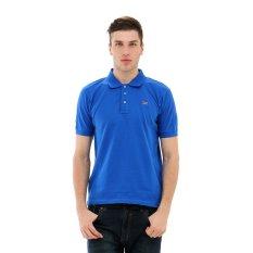 Carvil 10B Kaus Polo Pria - Blue Benhur