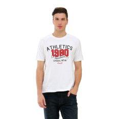Carvil A3 T Shirt Pria Putih Murah