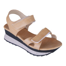 Jual Carvil Almeta 02L Ladies Sandal Casual Cream Ori