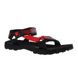 Jual Carvil Batugana Gm Man Sandal Sponge Black Red Grosir