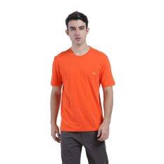 Carvil Bio Men S T Shirt Orange Jawa Barat
