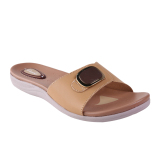 Spesifikasi Carvil Biola 01L Women S Casual Sandal Beige Beserta Harganya