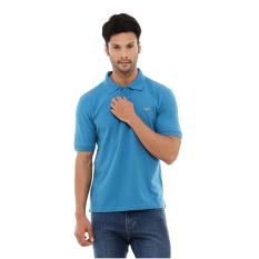 Harga Carvil Blu Tel Polo Shirt Man Blue Teal Yang Murah
