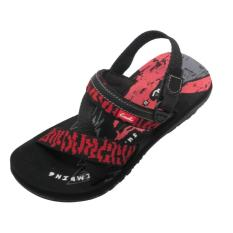 CARVIL -BOY SANDAL GUNUNG CLIMBING-GT BLACK/RED