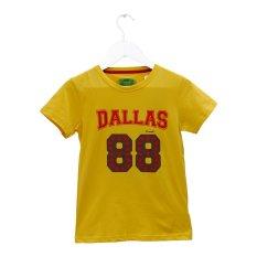 Harga Carvil Dalas T Shirt Pria Kuning Terbaru
