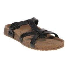 Harga Carvil Ernest 03L Ladies Sandal Footbed Black Branded