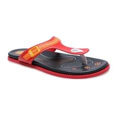 Beli Carvil Etios 01 Casual Sandal Wanita Merah Hitam