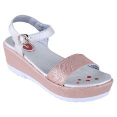 Carvil Follow-01Tw Girl Sandal Casual - Stone-White