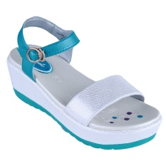 Carvil Follow-01Tw Girl Sandal Casual - White-Tosca