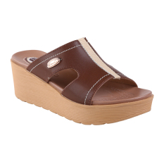Harga Carvil Future 01L Ladies Sandal Casual Brown Fullset Murah