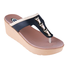 Jual Carvil Future 03L Ladies Sandal Casual Black Branded Murah