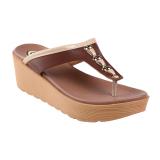 Jual Carvil Future 03L Women S Casual Sandal Cokelat Baru
