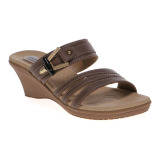 Toko Carvil Fuzy 02L Ladies Sandal Casual Dk Brown Murah Indonesia