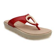 Jual Carvil Glazy 01L Casual Sandal Wanita Merah Murah