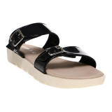 Harga Carvil Glazy 02L Ladies Sandal Casual Black Asli Carvil