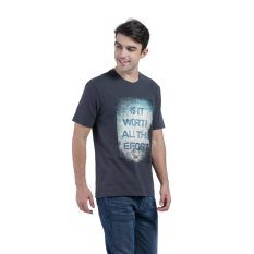 Harga Carvil Graph Men S T Shirt D Grey Carvil Ori