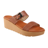 Carvil Groove 02L Women S Casual Sandal Cokelat Original