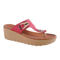 Diskon Besarcarvil Groove 03L Women S Casual Sandal Merah