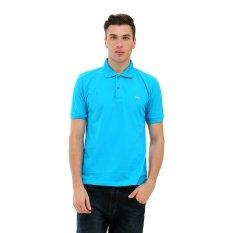 Harga Carvil Gta Kaus Polo Pria Blue Turquoise Yang Murah