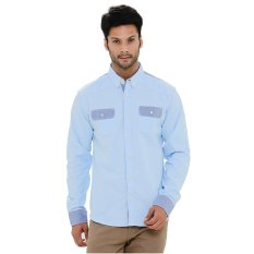 Carvil Hakuna-01 Kemeja Man - Light Blue