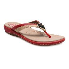 Tips Beli Carvil Hasten 01L Casual Sandal Wanita Merah Yang Bagus