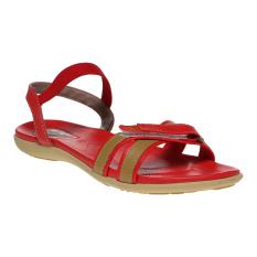 Harga Carvil Hilux 01 Sandal Kasual Wanita Merah Origin